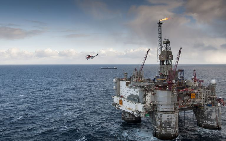 The Aker Barents drilling rig in Barents Sea - Photo Harald Pettersen - Statoil